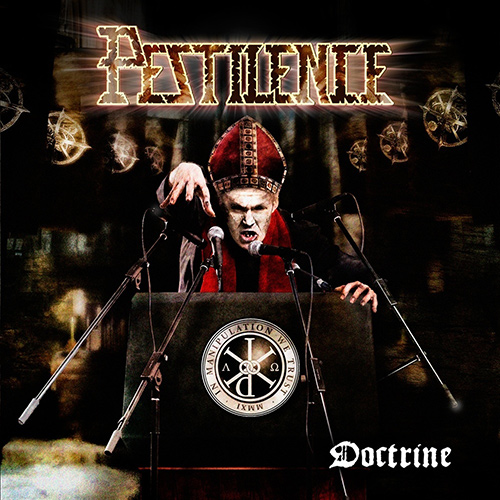 Pestilence - Doctrine recenzja okładka review cover