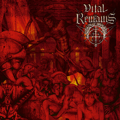 Vital Remains - Dechristianize recenzja okładka review cover