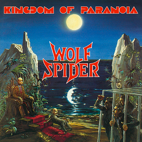 Wolf Spider - Kingdom Of Paranoia recenzja okładka review cover