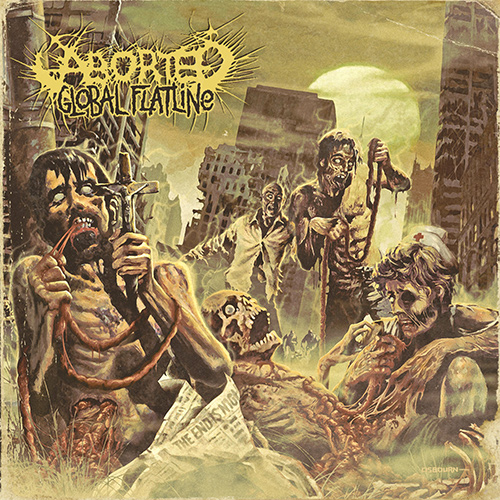 Aborted - Global Flatline recenzja okładka review cover