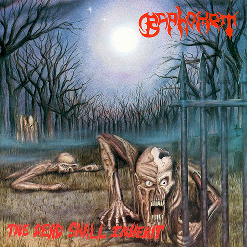 Baphomet - The Dead Shall Inherit recenzja okładka review cover