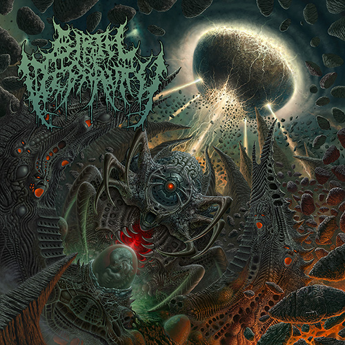 Birth Of Depravity - The Coming Of The Ineffable recenzja okładka review cover