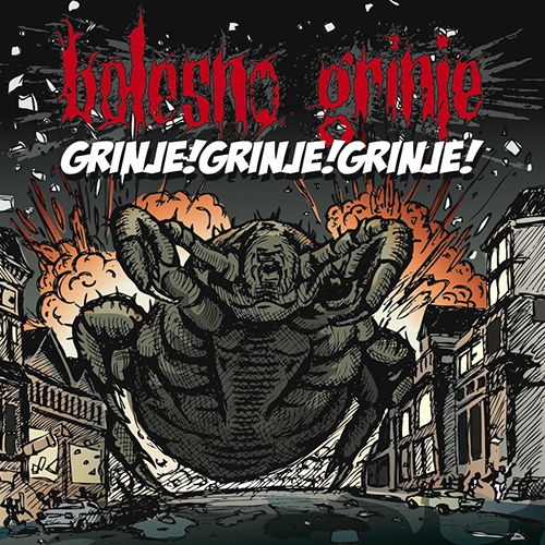 Bolesno Grinje - Grinje!Grinje!Grinje! recenzja okładka review cover