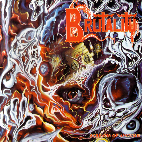 Brutality - Screams Of Anguish recenzja okładka review cover
