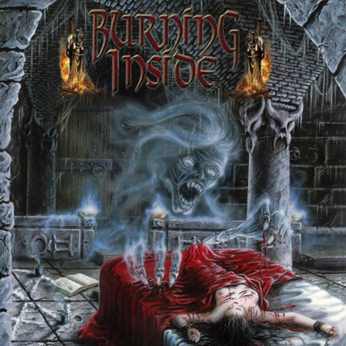 Burning Inside - Apparition recenzja okładka review cover