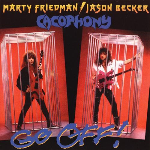 Cacophony - Go Off! recenzja okładka review cover