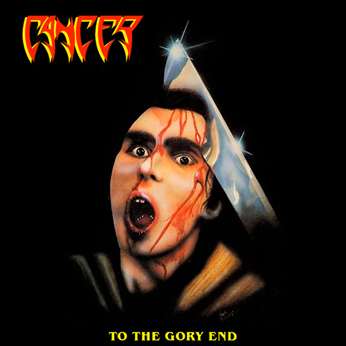 Cancer - To The Gory End recenzja okładka review cover