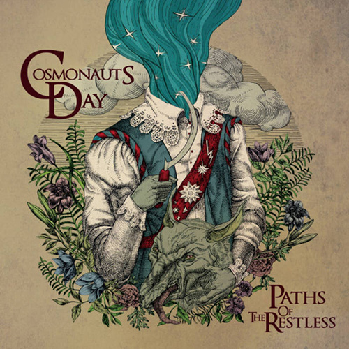 Cosmonauts Day - Paths Of The Restless recenzja okładka review cover