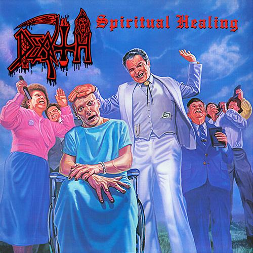 Death - Spiritual Healing recenzja okładka review cover