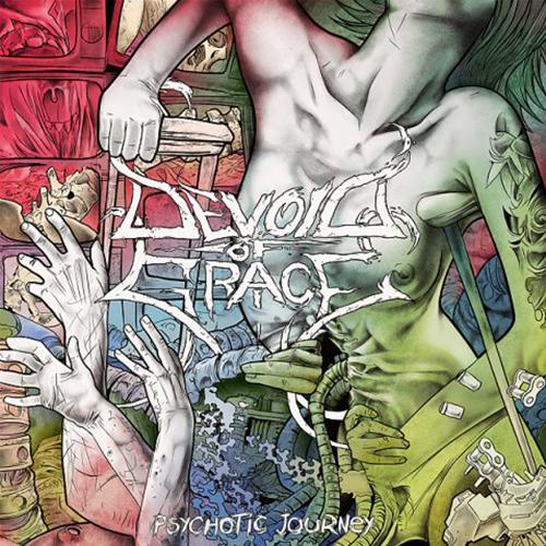 Devoid Of Grace - Psychotic Journey recenzja okładka review cover