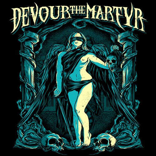 Devour The Martyr - Wasted On The Living recenzja okładka review cover