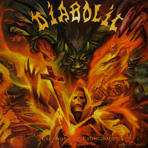 Diabolic - Excisions Of Exorcisms recenzja okładka review cover