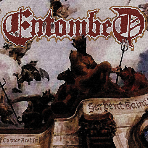 Entombed - Serpent Saints - The Ten Amendments recenzja okładka review cover
