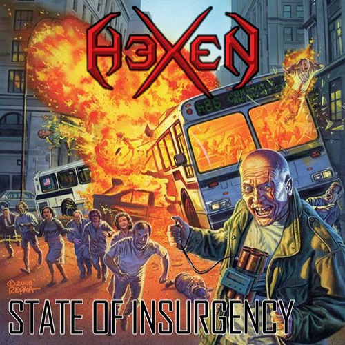 Hexen - State Of Insurgency recenzja okładka review cover