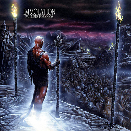 Immolation - Failures For Gods recenzja okładka review cover