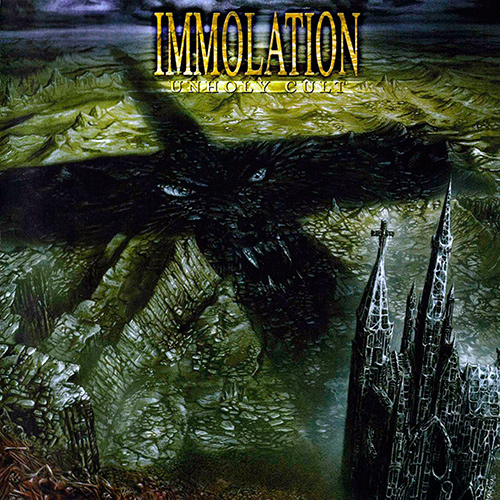 Immolation - Unholy Cult recenzja okładka review cover