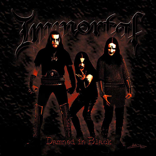 Immortal - Damned In Black recenzja okładka review cover