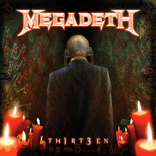 Megadeth - Th1rt3en recenzja okładka review cover