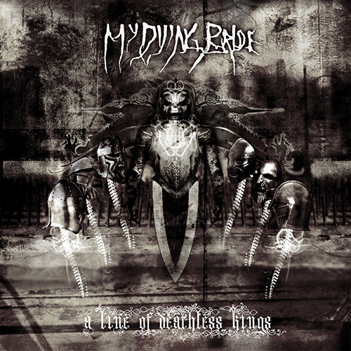 My Dying Bride - A Line Of Deathless Kings recenzja okładka review cover