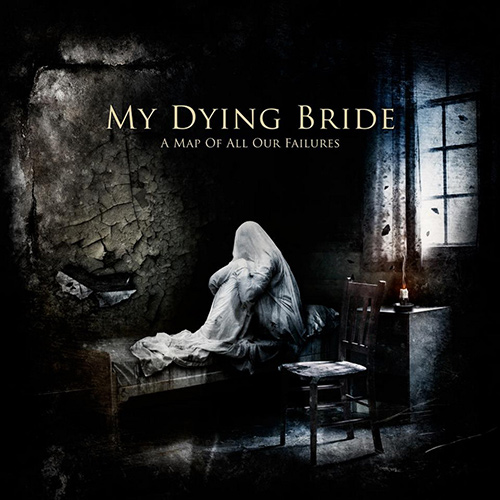 My Dying Bride - A Map Of All Our Failures recenzja okładka review cover