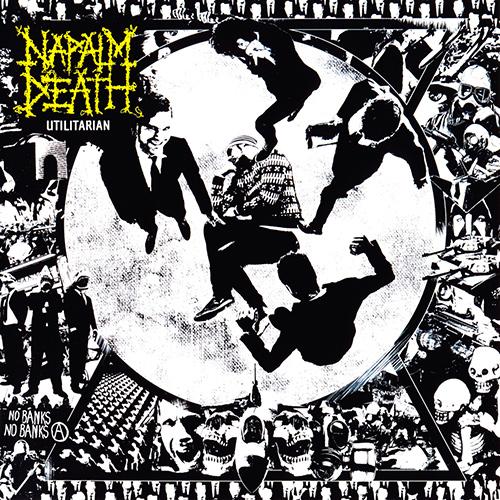 Napalm Death - Utilitarian recenzja okładka review cover