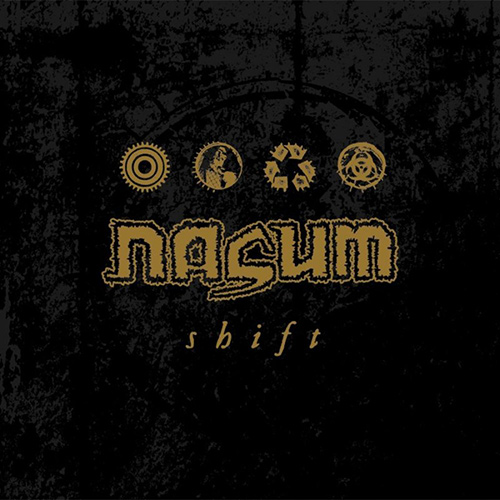 Nasum - Shift recenzja okładka review cover