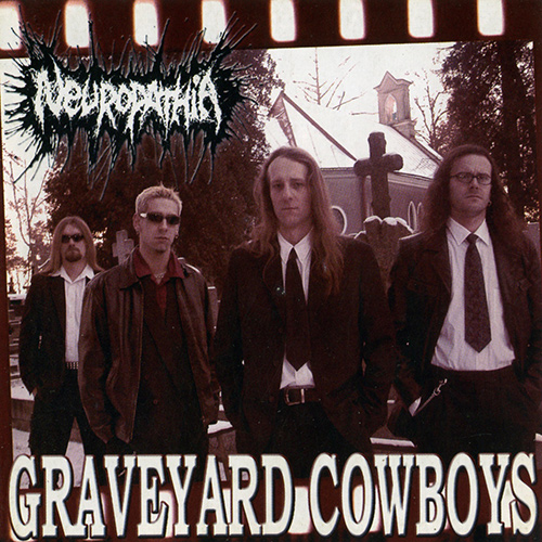 Neuropathia - Graveyard Cowboys recenzja okładka review cover