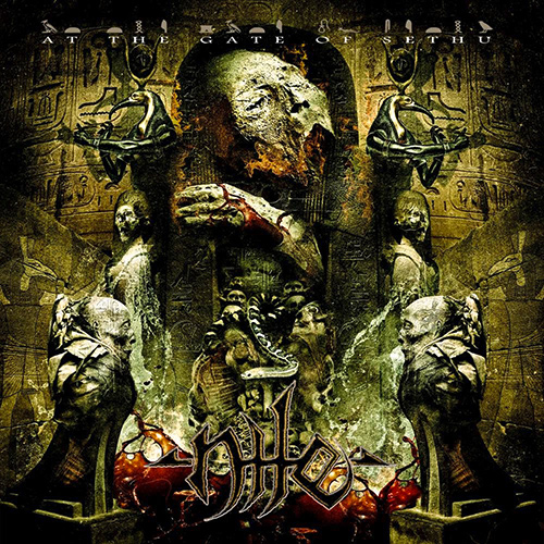 Nile - At The Gate Of Sethu recenzja okładka review cover