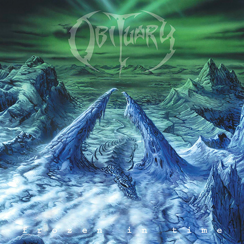 Obituary - Frozen In Time recenzja okładka review cover