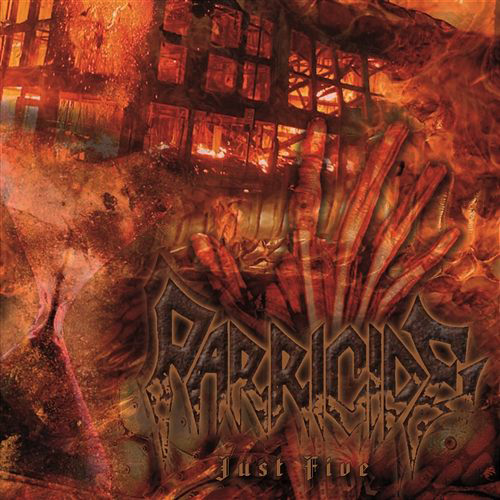 Parricide - Just Five recenzja okładka review cover
