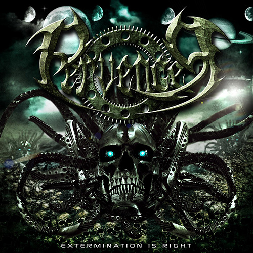 Pervencer - Extermination Is Right recenzja okładka review cover