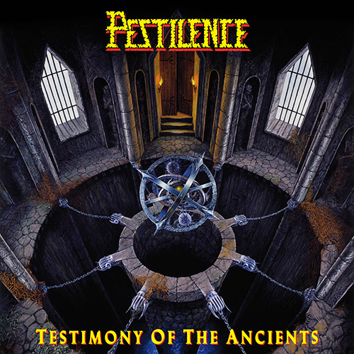 Pestilence - Testimony Of The Ancients recenzja okładka review cover