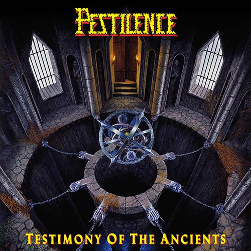 Pestilence - Testimony Of The Ancients recenzja okładka review cover