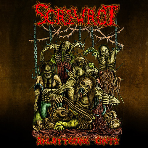 Screwrot - Splattering Cunts recenzja okładka review cover