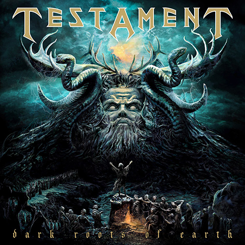 Testament - Dark Roots Of Earth recenzja okładka review cover