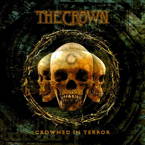 The Crown - Crowned In Terror recenzja okładka review cover