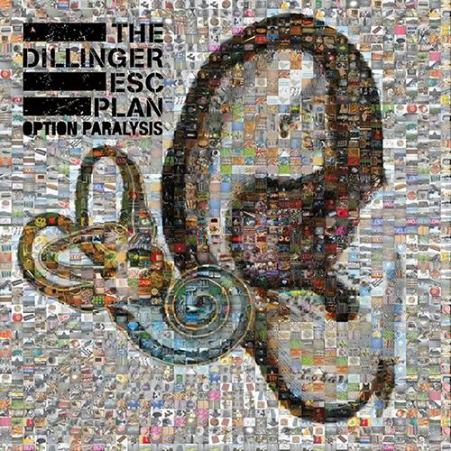 The Dillinger Escape Plan - Option Paralysis recenzja okładka review cover