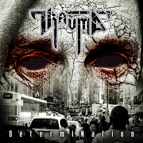 Trauma - Determination recenzja okładka review cover