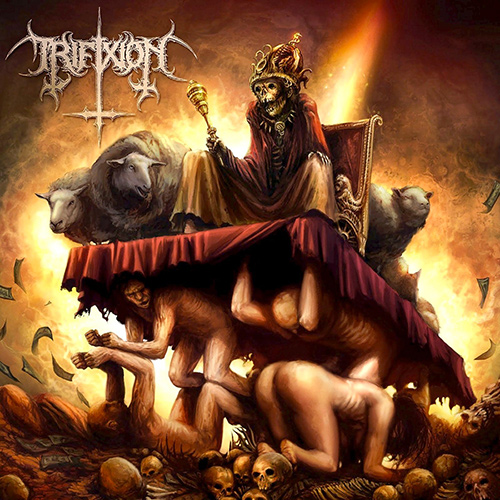 Trifixion - A Utopia For The Damned recenzja okładka review cover