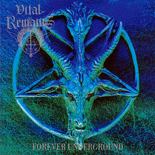 Vital Remains - Forever Underground recenzja okładka review cover