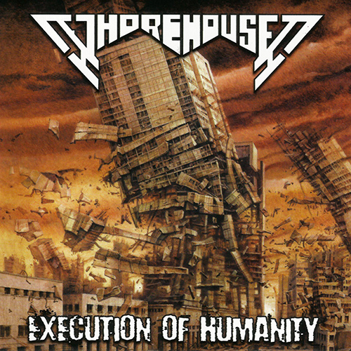 Whorehouse - Execution Of Humanity recenzja okładka review cover