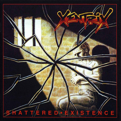 Xentrix - Shattered Existence recenzja okładka review cover