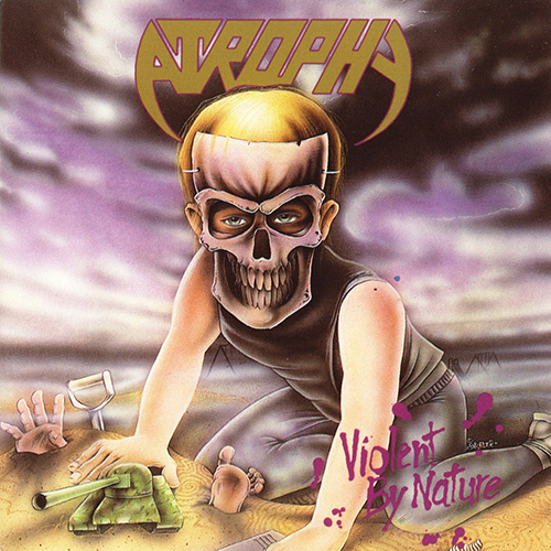 Atrophy - Violent By Nature recenzja okładka review cover