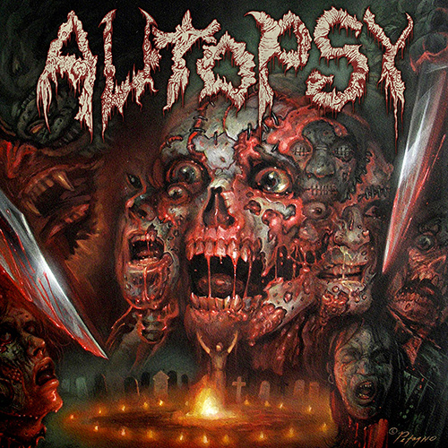 Autopsy - The Headless Ritual recenzja okładka review cover