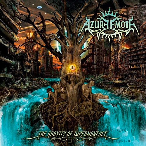 Azure Emote - The Gravity Of Impermanence recenzja okładka review cover