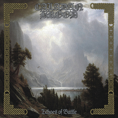 Caladan Brood - Echoes Of Battle recenzja okładka review cover
