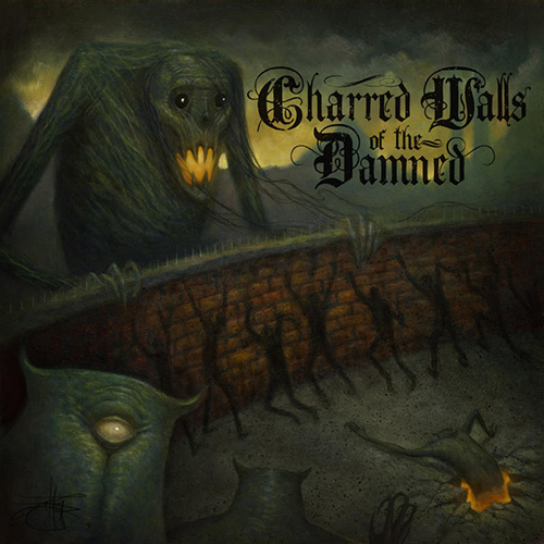 Charred Walls Of The Damned - Charred Walls Of The Damned recenzja okładka review cover