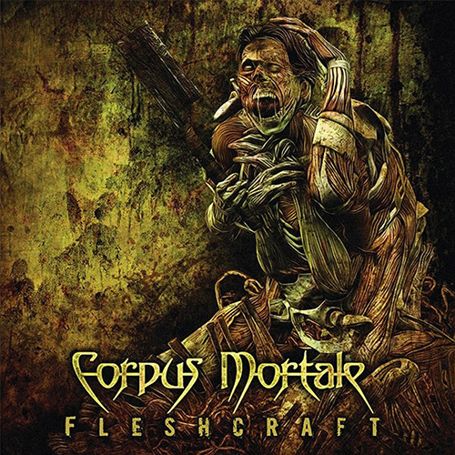 Corpus Mortale - Fleshcraft recenzja okładka review cover