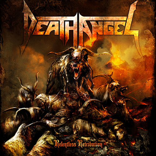 Death Angel - Relentless Retribution recenzja okładka review cover