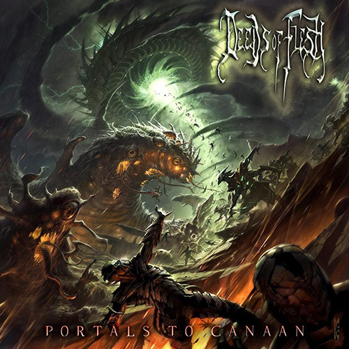 Deeds Of Flesh - Portals To Canaan recenzja okładka review cover